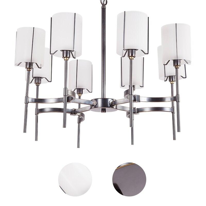 Фото Modern American crystal droplight sitting room of Europe type droplight sitting room full  copper cloth bedroom chandeliers