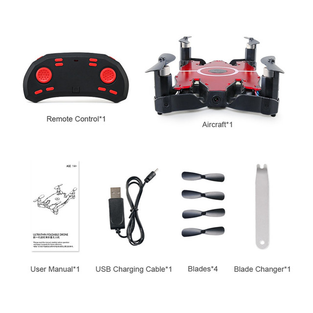 JJR/C JJRC H49 SOL Ultrathin Wifi FPV Selfie Drone 720P Camera Auto Foldable Arm Altitude Hold RC Quadcopter VS H37 H47 E57 5