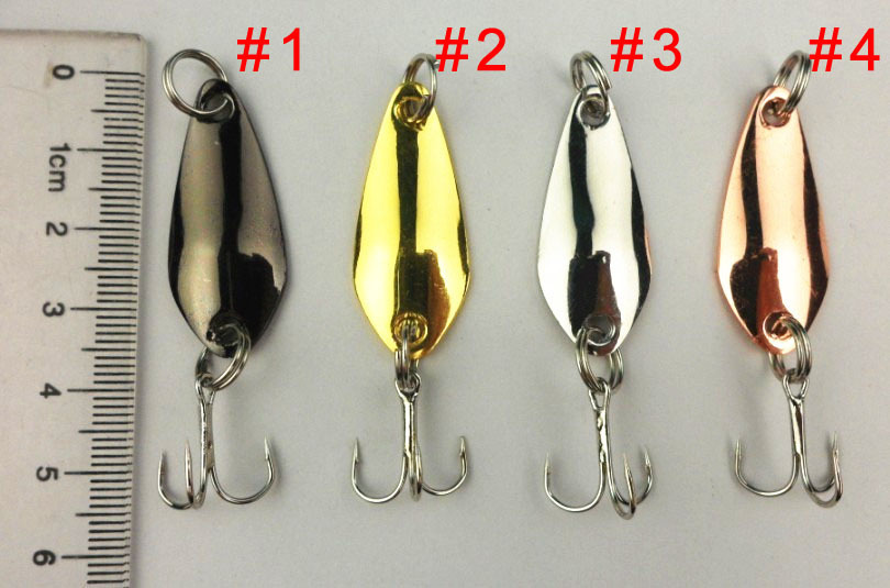 Buy best lures 200pcs fishing spoon lures for How to make a fishing spinner