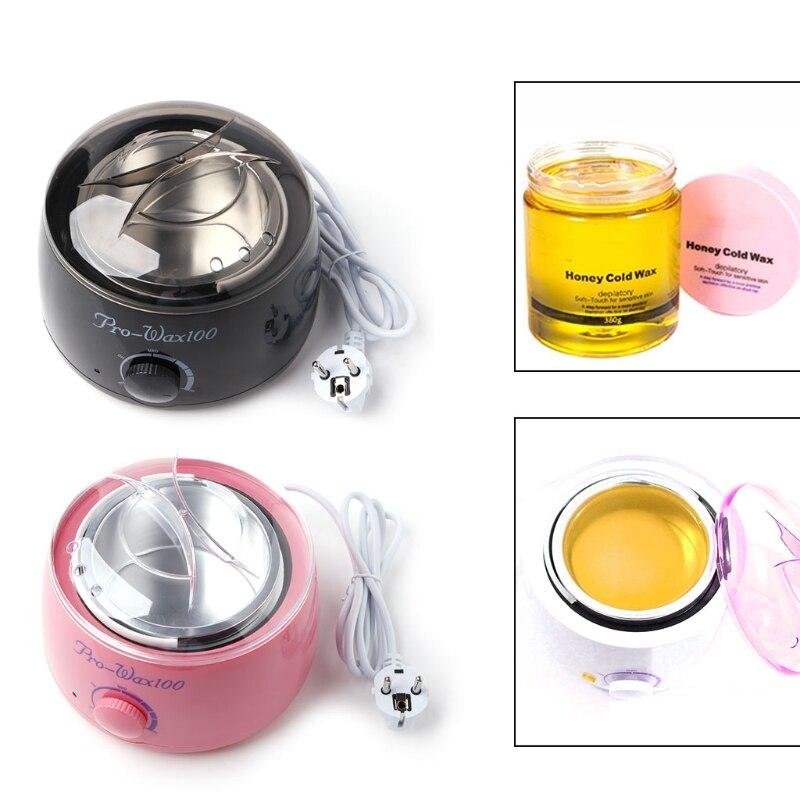 220V Salon Spa Hair Removal Hot Paraffin Wax Warmer Heater Pot Machine Kit