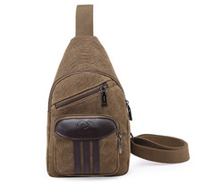 Hot New Retro canvas bag men Leisure Bag Shoulder Satchel Han Banchao bag factory wholesale   LJ-0251