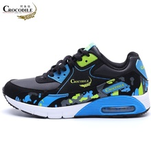 Купить с кэшбэком Crocodile for Women Air Cushioning Sneaker Femme Jogging Running Shoes Lady Trainer Sport Shoes Athletic Basketball Shoes Women