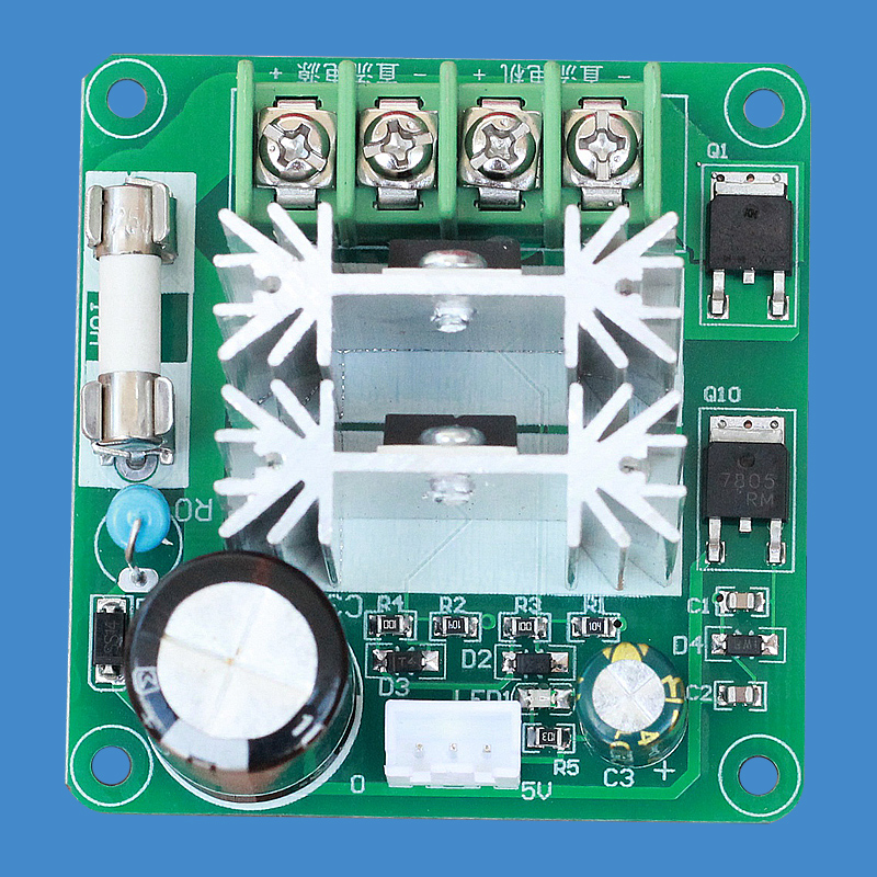 Digital DC Motor PWM Stepless Speed Change Switch Controller High Efficiency 12-24V 10A dc motor pump pwm stepless speed change switch cotton sugar governor 9v12v24v36v48v60v