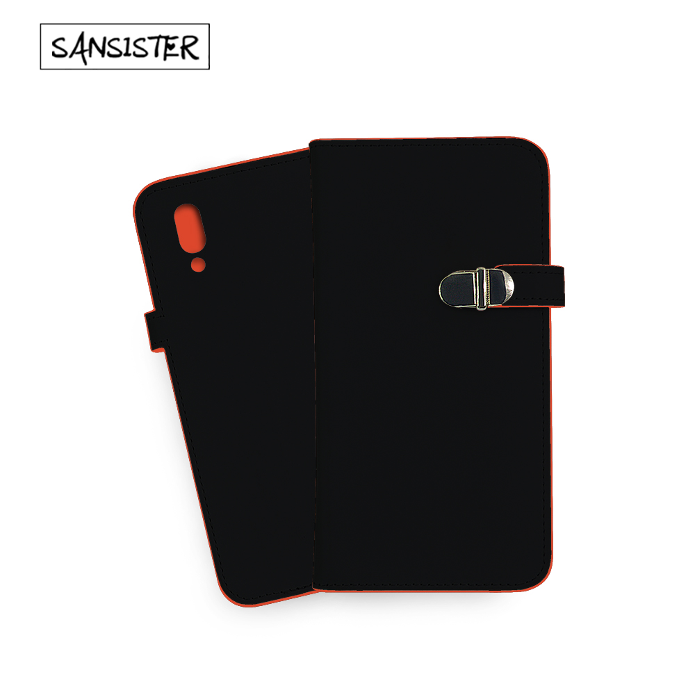 Unique book Case For VIVO X21 UD Nice Red color inside and elegant Black outside let you cell phone different For Vivo device