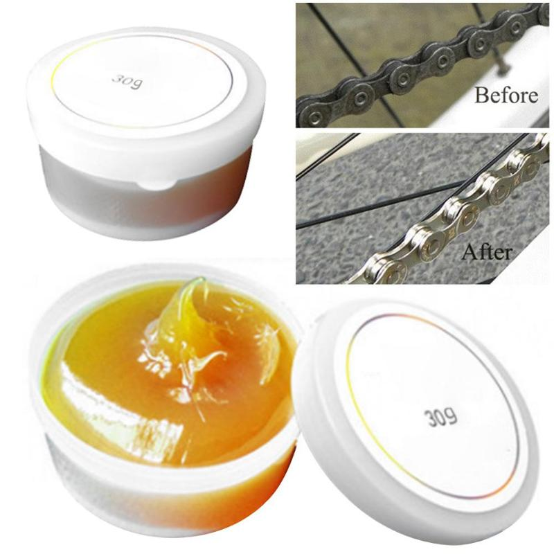 Hot Professional Bike Bicycle Lubricating Butter Grease For Bearing Bicycle Chain Oil Cleaner Repair Grease Bike Maintenance
