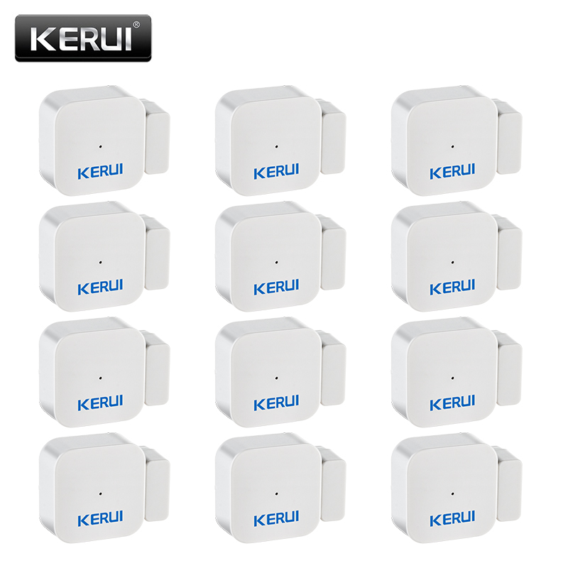 KERUI D028 Wireless Window Door Magnet Sensor Detector Door Sensor Portable Anti-Tamper Burglar Alarm For KERUI Alarm System