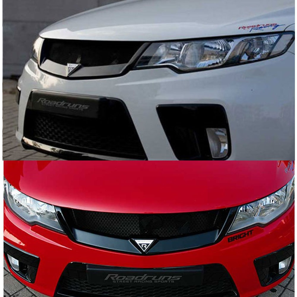 Front Hood Radiator Grill Roadruns 2 For Kia 2010 20111 2012 2013 Cerato Under Forte Koup In Racing Grills From Automobiles Motorcycles On