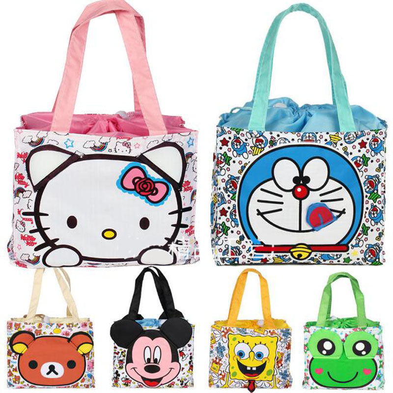 Multifunction Waterproof Portable Insulated Cartoon Lunch Bag Thermal Food Picnic For Women kids Men Cooler Tote Handbags