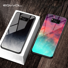 Eqvvol Tempered Glass Space Phone Case For Samsung
