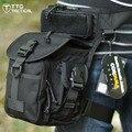 TTGTACTICAL NYLON CORDURA 1000D Militar Multifuncional Perna Militares Sacos de Sacos de Sacos de Ferramenta Elétrica Coxa Perna Queda