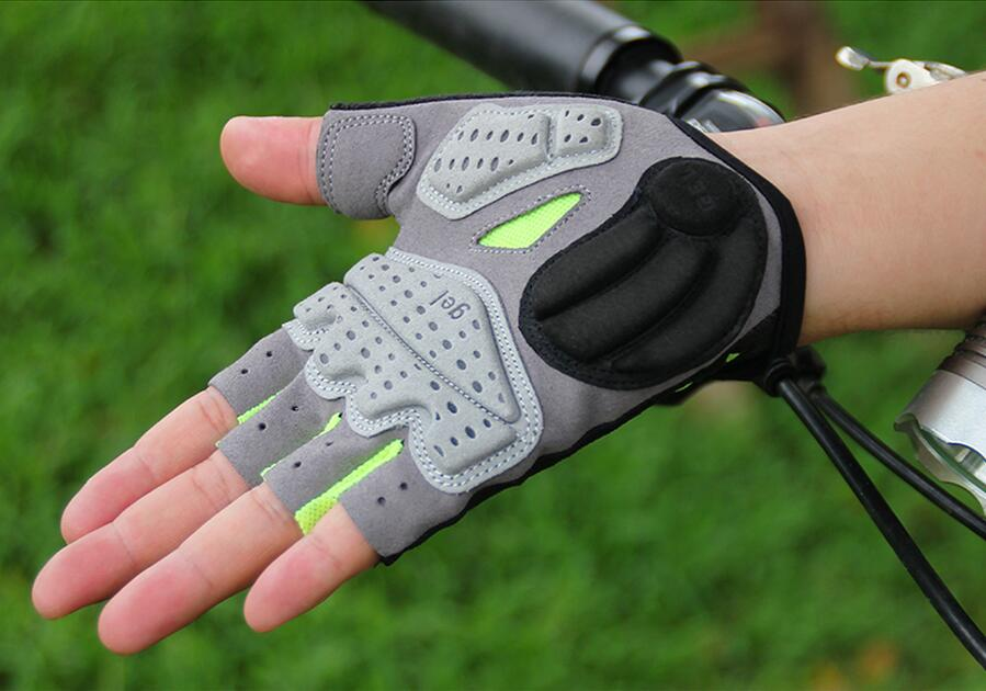 GUB 2098 Breathable <font><b>Mountain</b></font> Road Cycling <font><b>Gloves</b></font> 3D <font><b>GEL</b></font> Anti-slip Motorcycle <font><b>Bike</b></font> Anti-shock Half Finger Bicycle image