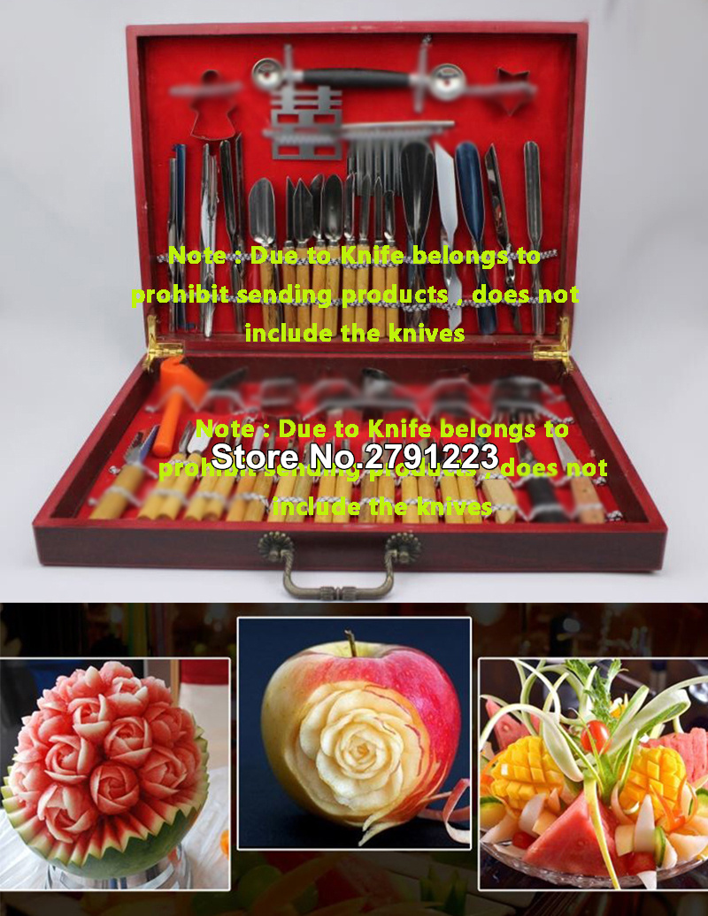 High Quality Culinary Practical Carving Tool Set Fruit Vegetable Garnishing Decorators Food Engraving Knife Kitchen Tools