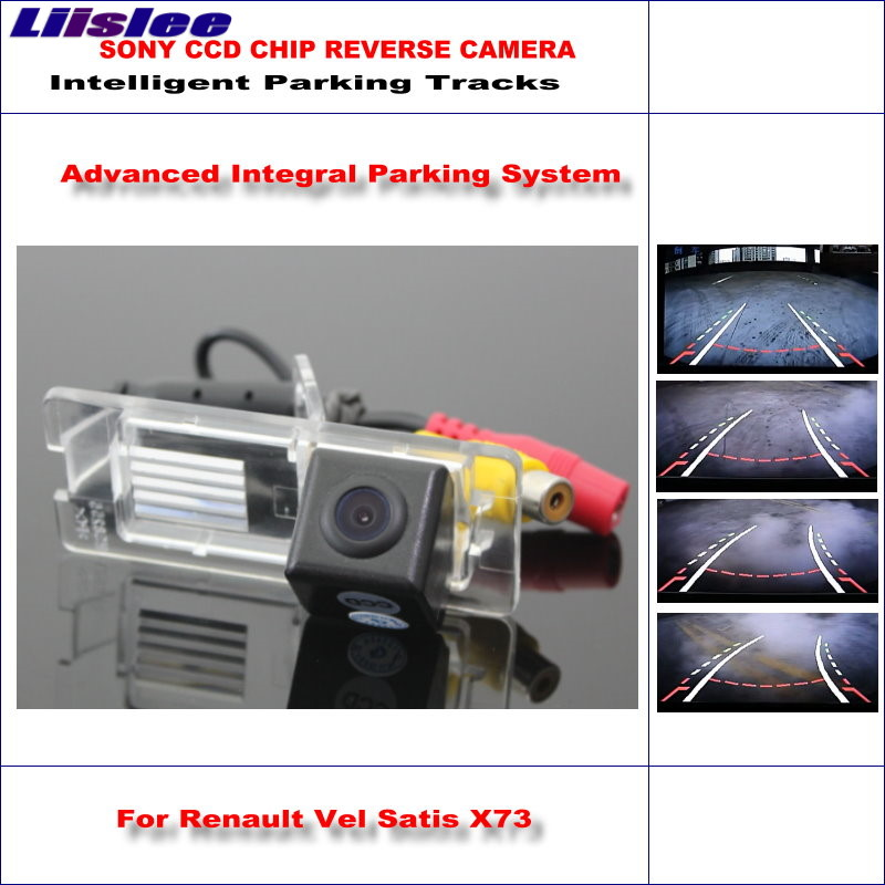 Liislee 860 Pixels Car Rear Back Camera For Renault Vel Satis X73 2002 2009 Rearview Parking