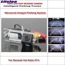 Liislee 860 Pixels Car Rear Back Camera For Renault Vel Satis X73 2002~2009 Rearview Parking Dynamic Reverse Tragectory недорго, оригинальная цена