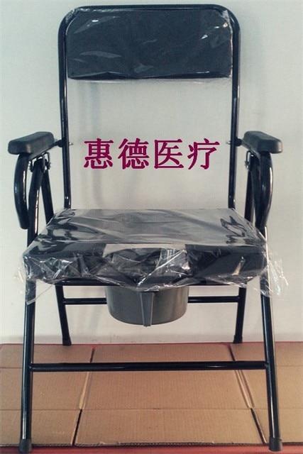 Elderly Potty Chair Elderly Toilet Stool Chair Mobile Toilet Toilet Toilet  Seat Chair Chair Folding Chair