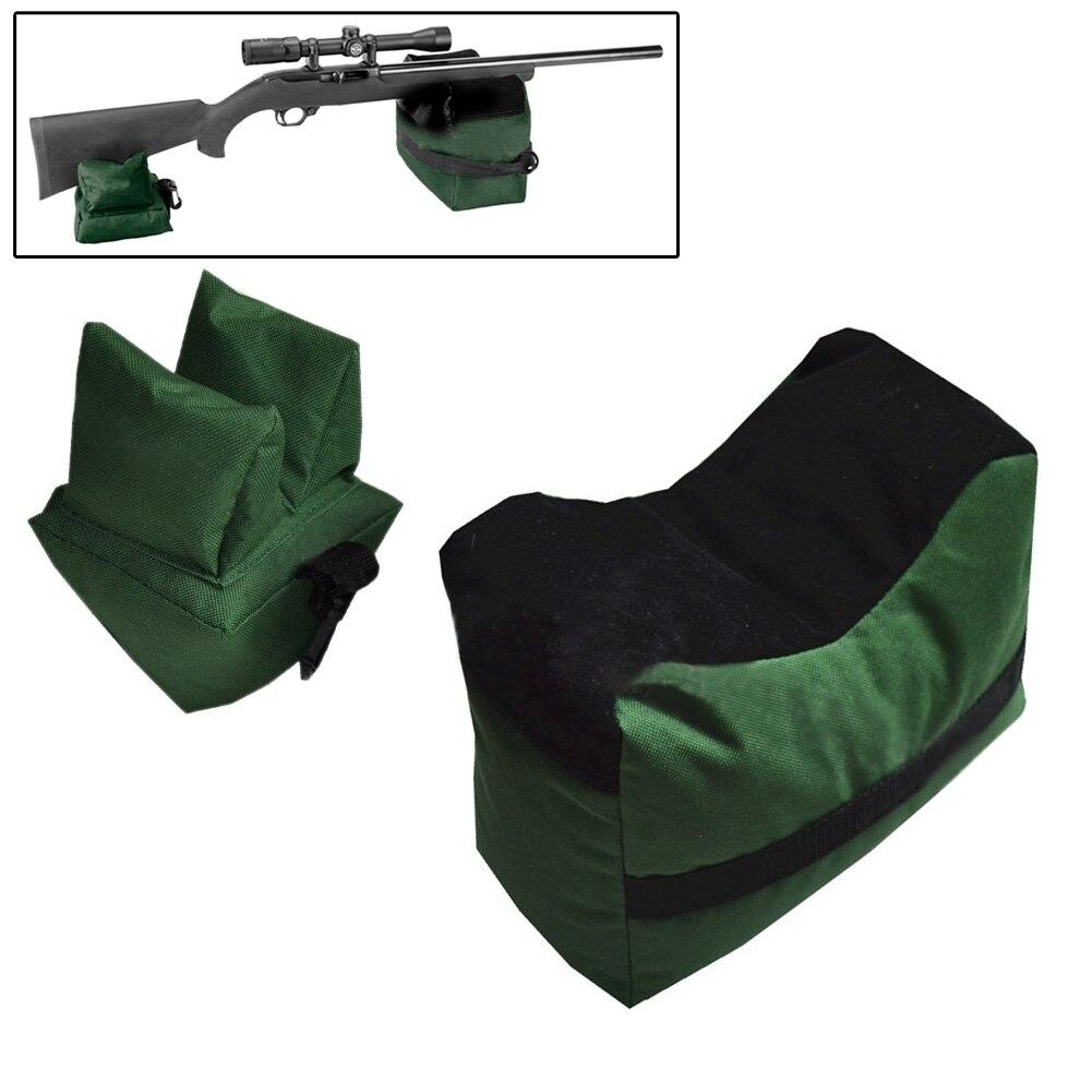 Large SHOOTING BAG SET Front /& Rear Bags Gun Rest Range Rifle Target Hunt