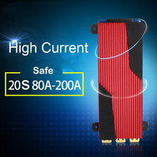 20S 72V lityum pil koruma levhası elektrikli otomobil eBike 18650 80A 100A 120A 150A 200A denge 20 hücre Li ion lipo PCB BMS
