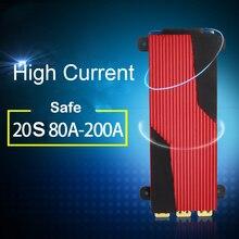 20S 72V литиевая батарея Защитная плата электрический автомобиль eBike 18650 80A 100A 120A 150A 200A баланс 20 ячеек литий ионная Lipo PCB BMS