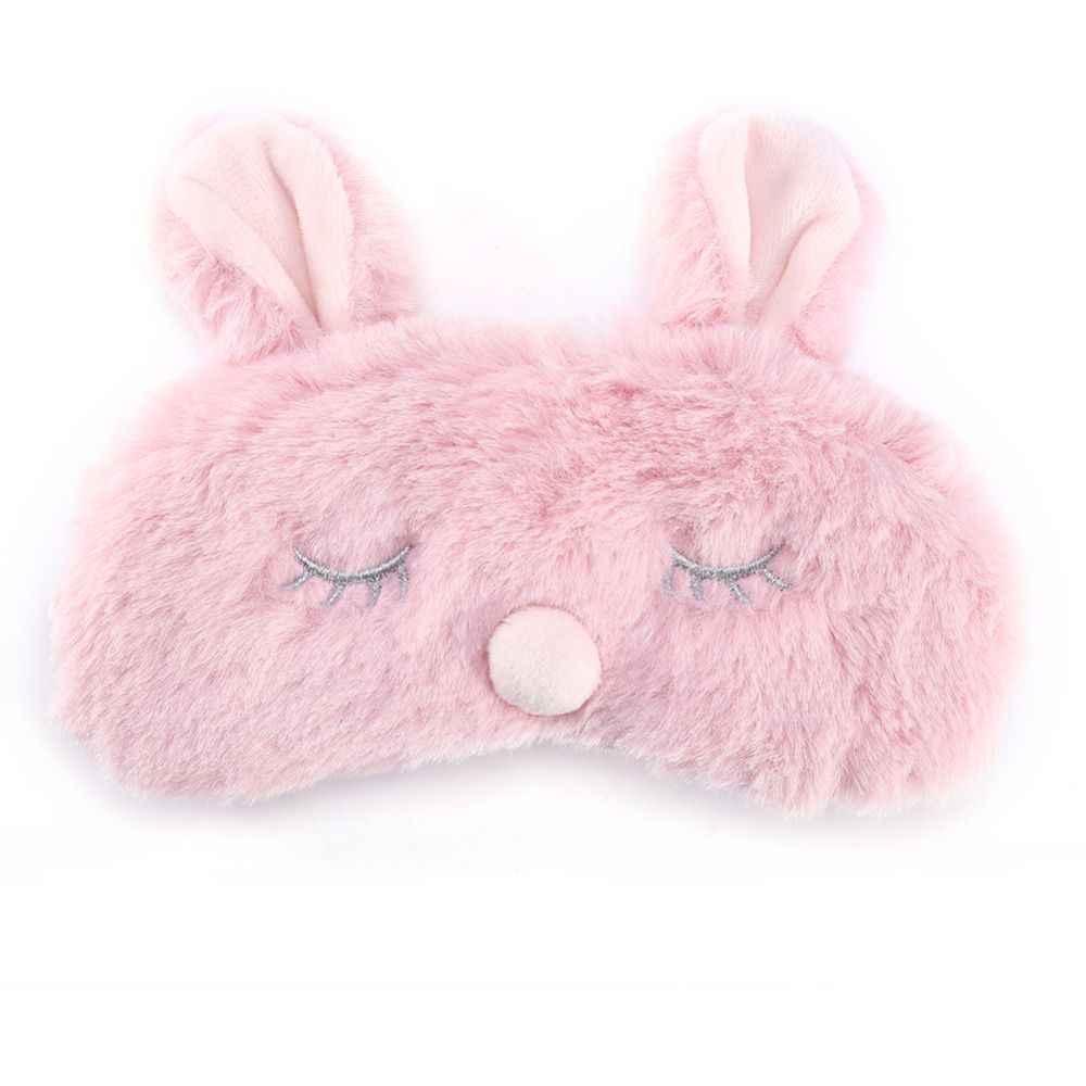 3D 睡眠マスククリスマス動物アイカバーぬいぐるみ生地睡眠マスクコアラ鹿ペンギン眼帯ウサギ冬漫画昼寝