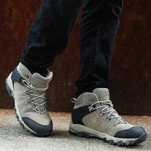 Clorts водонепроницаемые походные ботинки мужские треккинговые ботинки из натуральной кожи уличные ботинки мужские походные кроссовки горные ботинки HKM-822A/G