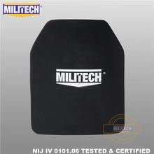 MILITECH אלומינה & PE NIJ IV Bulletproof צלחת Al2O3 אלומיניום תחמוצת NIJ IV Stand לבד בליסטי פנל NIJ רמת 4 צלחת ESAPI