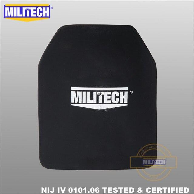 MILITECH tlenek glinu i PE NIJ IV płyta kuloodporna Al2O3 tlenek glinu NIJ IV samodzielny Panel balistyczny NIJ poziom 4 płyta ESAPI