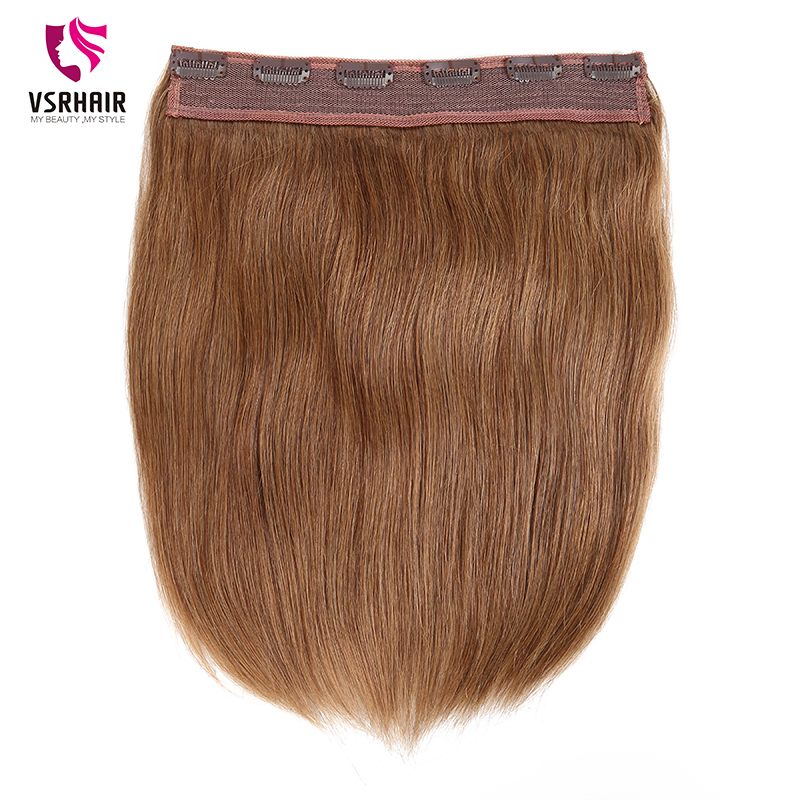 VSR Remy Human Hair Halo Clip Hair Style No Fish Line Halo Hair Extension