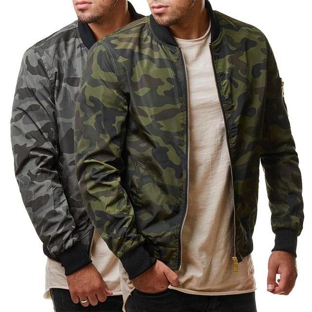 M-7XL 2019 New Autumn Men's Camouflage Jackets Male Coats Camo Bomber Jacket Mens Brand Clothing Outwear Plus Size M-7XL 6