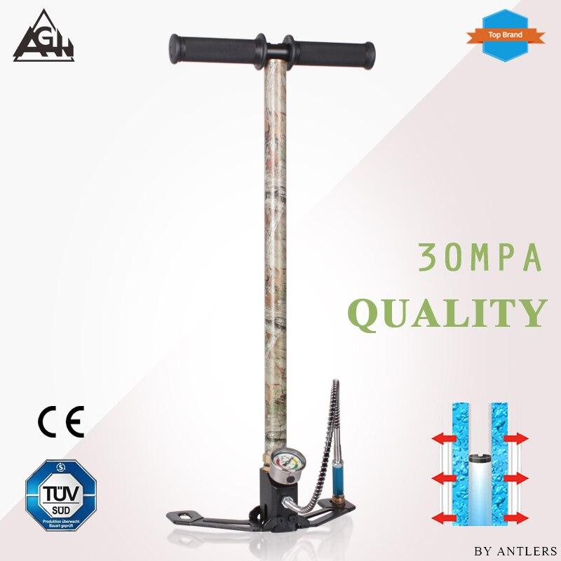 Air Rifle 4500PSI Hunting Pcp Pump 3 Stage Airgun PCP Pump Airrifle High Pressure Pcp Hand Pump With Air Filter 40mpa Gauge Caza