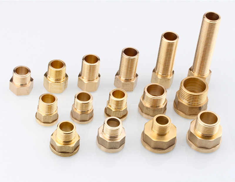Brass Hose Fitting 20mm 25mm G1/2 3/4  Barb Tail BSP Female Thread Copper Connector Joint Coupler Adapter