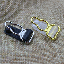 suspender clips 1.2cm Garter clip Garment Clothing accessories Sewing Supplies Metal+ PP 6 pcs/lot