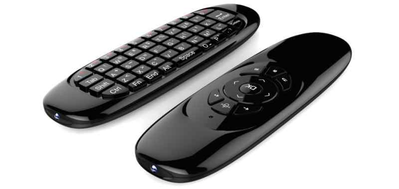 Redamigo Fly Air Mouse Gaming Keyboard Giroskop Remote Control 2.4 GHz Wireless Keyboard untuk Android TV Box PC Rusia RCL120
