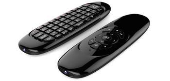 REDAMIGO Fly Air Мышь игровой клавиатурный гироскоп удаленного Управление 2,4 ГГц Беспроводной клавиатура для ТВ-приставка на базе Android ПК русская ...