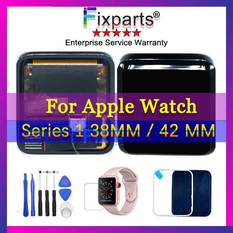 Original For Apple watch Series 1 38mm 42mm LCD Display Touch Screen Panel Digitizer Assembly Replacement Parts For apple watch