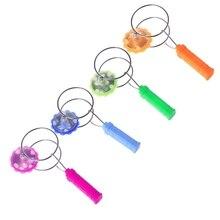 Магнитный гироскоп колесо волшебный спиннинг СВЕТОДИОДНЫЙ Красочный Свет гироскопа игрушки йойо подарки для детей