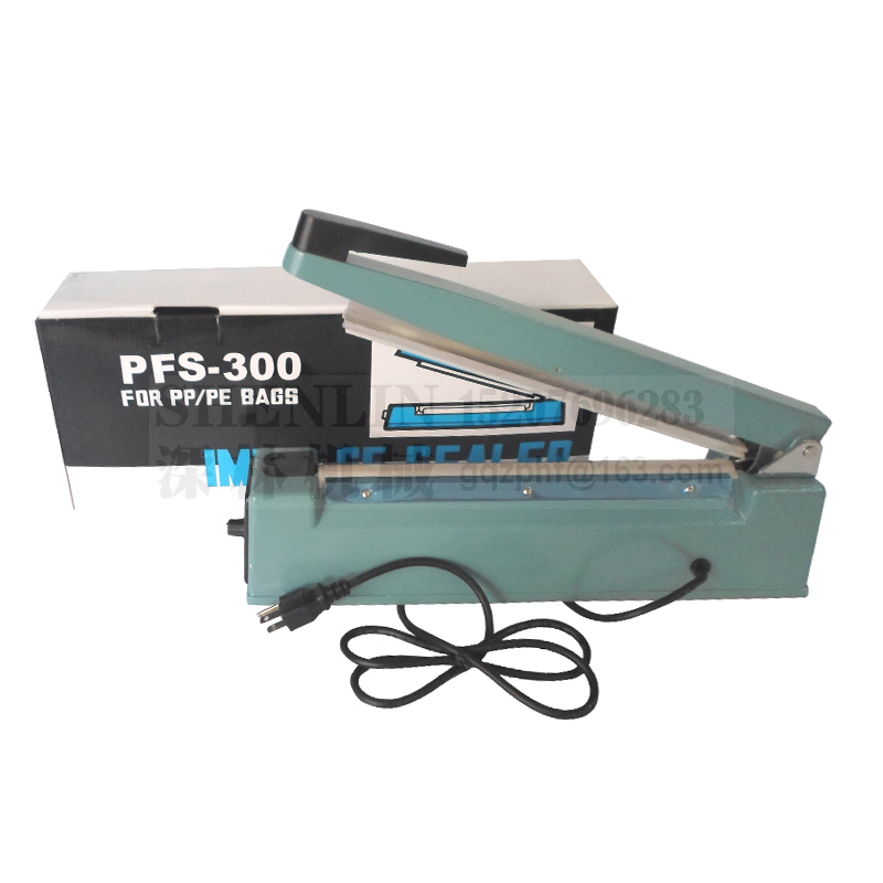 Impulse Sealer PSF300 Hand Sealing Machine Manual Sealer Of Plastic Bag Sealing Machine Bag Sealer 110V/220V PP Shell EU/AU/US