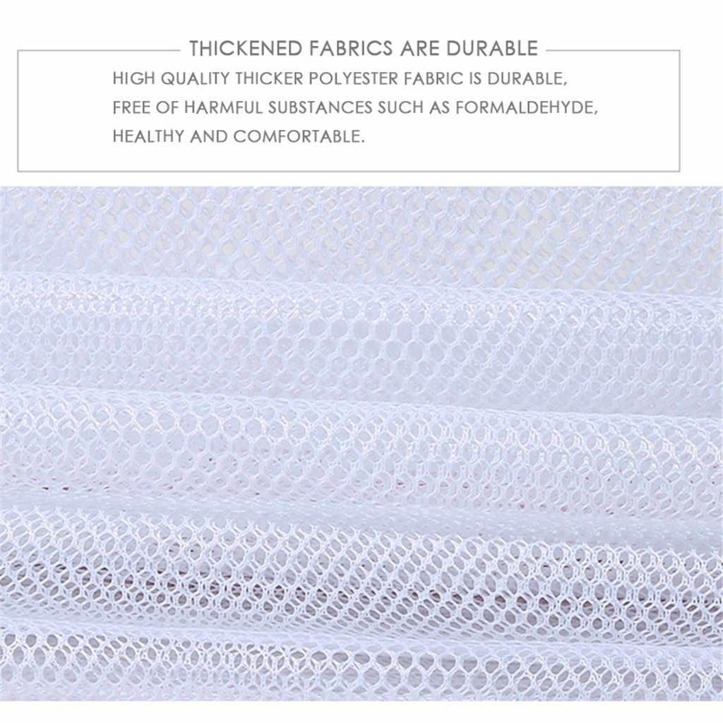 Dobrar cesto de Roupa Suja Net Net Saco De Lavagem De Malha De Proteção Underwear Bra Saco de Roupa Máquina de Lavar Roupa Sacos De Armazenamento Organizador #35