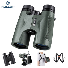 HUTACT Binoculars For Hunting Tool 10x42 Binoculo Handheld Telescope Professional Telescopio BAK4 Optical Bird Watching Concert