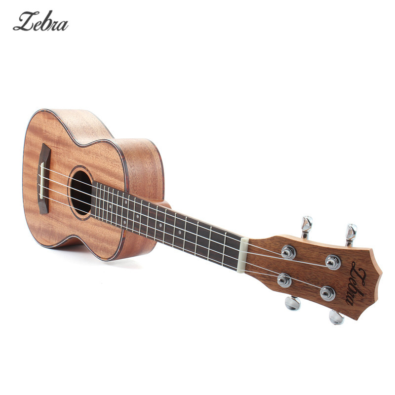 Zebra 23 26 4 Strings Ukulele Hawaiian Mahogany Concert Guitar Rosewood Fretboard Bridge For Beginners Stringed Instruments zebra 23 26 4 strings mahogany concert guitarra guitar rosewood fretboard bridge ukulele uke for musical stringed instruments