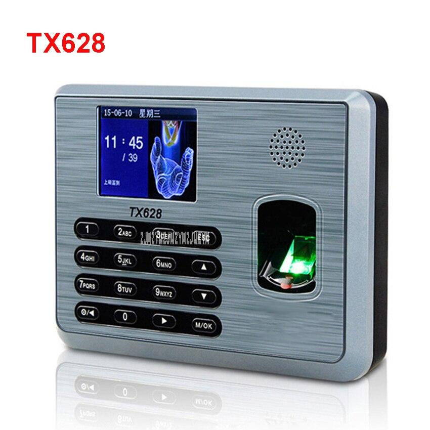 TX628 fingerprint attendance punch card machine fingerprint to work fingerprint machine sign machine punch card machine 5v