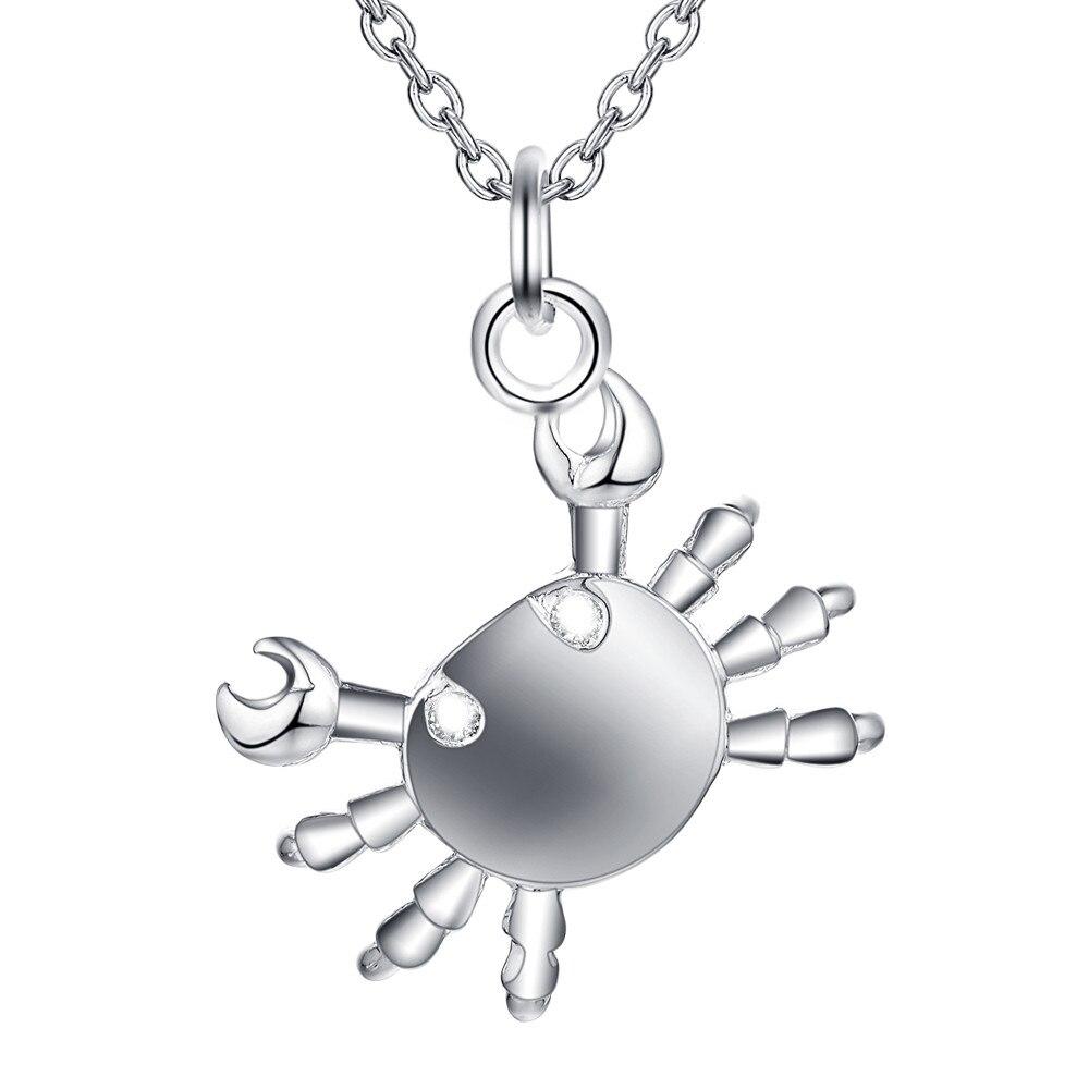 238015c45868 ᗑPlateado plata al por mayor encanto jewelrys Collar
