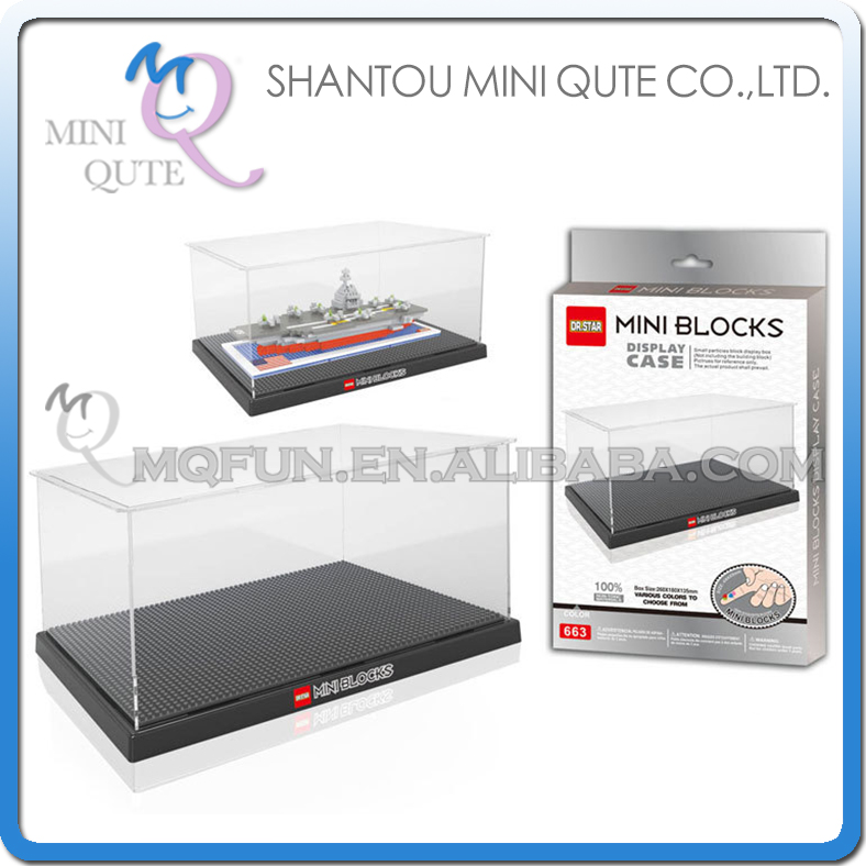 display case promotion shop for promotional plastic model display