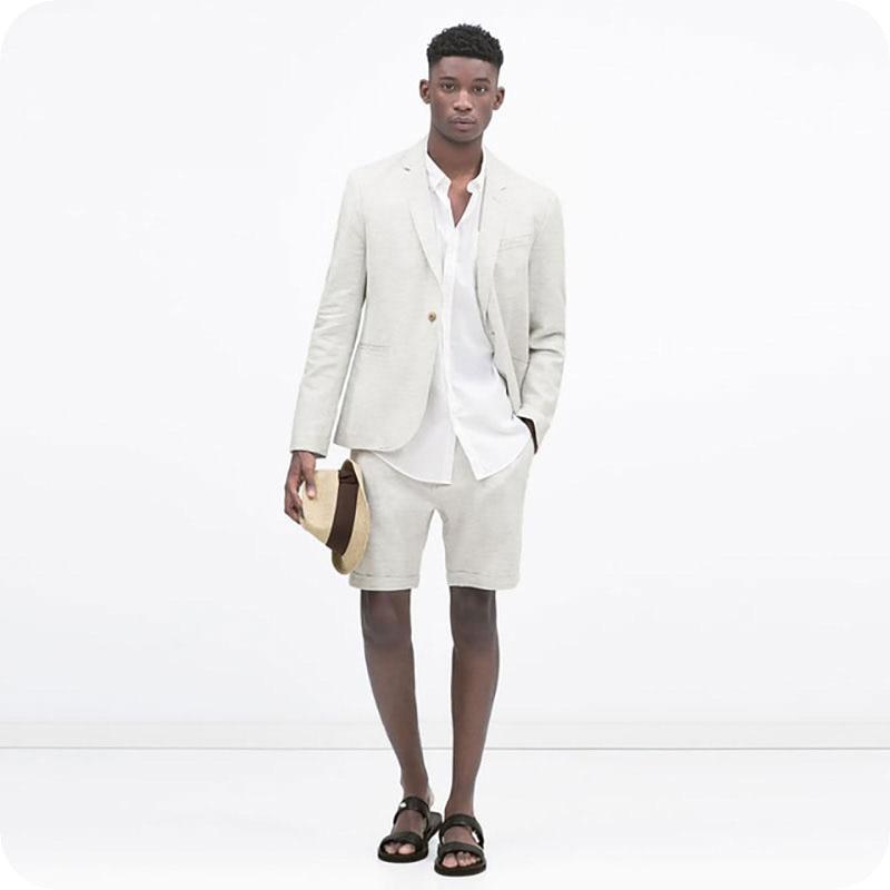 huge discount c4b40 32d7e Uomo Giacca Smoking Vestito custom Pantaloni 2 Jacket Lino ...