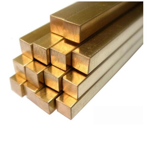 30x30x50mm Brass Cube block Bar Square Rod plate sheet DIY Rivet material , Building material bioinert material