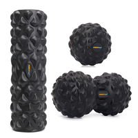 Foam Roller Yoga Pilates Block Set Massage Fitness for Deep Tissue Massage for Crossfit Yoga Pilates For Women Yoga Gym Roller
