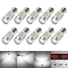 10Pcs 새로운 전구 5630 5730 SMD 10 LED H6W BAX9S 150 LED 램프 주차 빛/DRL/전면 후면 턴 신호등 12V DC