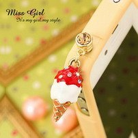 MissGirl*Hello Angel Smart Mobil Phone Dust Free Plug 5100110 MIN order is $10(mixed order)