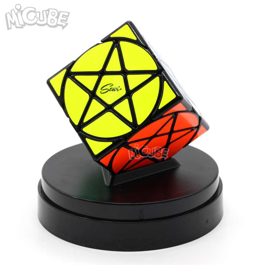 Toys & Hobbies Puzzles & Games Smart Mofangge Five-pointed Pentacle Cube Star Cube Magic Cube Special Difficult Puzzle Speed Cubo Magico Learning Education Toys To Clear Out Annoyance And Quench Thirst