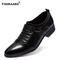 2018 Spring Autumn Luxury Mens Formal Wedding Shoes Men Business Dress Shoes British Style Pointy Shoes