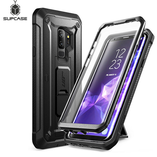 SUPCASE For Samsung Galaxy S9 Plus Unicorn Beetle UB Pro Shockproof Rugged Case Cover with Built in Screen Protector & Kickstand